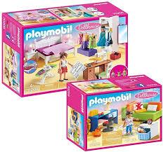 modernes wohnen playmobil dollhouse puppenhaus set 70208