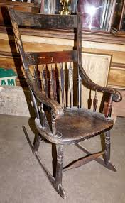1860s Boston Rocking Chair