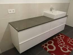 bad waschtisch und diy konsole mit beton ciré und ikea