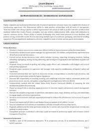 Sample Resume Transportation Supervisor Also For Produce Remarkable