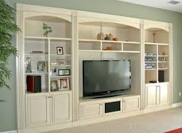 Living Room Built In Wall Units Outstanding Custom Tv On