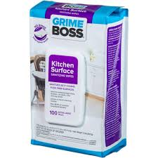 100 Kitchen Tile Kitchen Grease Net Household by Grime Boss Kitchen Surface Sanitizing Wipes 100 Count M941sh