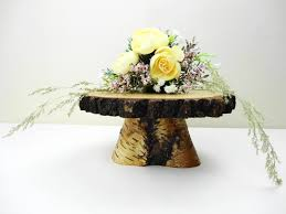 7 8 Birch Stand Wooden Pedestal Cake Flower Centerpiece Wedding Decor Rustic E29