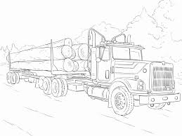 100 Best Semi Truck Coloring Pages Luxury 35 Vehicles Throughout