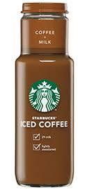 Starbucks Bottled Iced Coffee