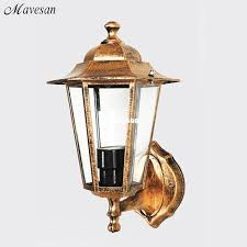2018 Rustic Style Waterproof Outdoor Wall Lamp Retro Villa Creative Sconces Lights Balcony From Jerry598 4863