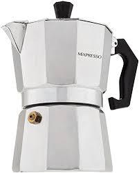 Moka Pot Coffee Maker Stovetop Espresso Easy To Use And Clean Italian Design For
