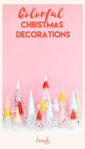 Colorful Christmas Decorations Youll Love