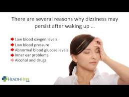 Lightheadedness When Standing by Morning Dizziness Causes In The Morning Youtube