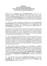 Brak Mitteilungen Merkblatt Zum Antrag Auf Gestattung Zum Führen Der