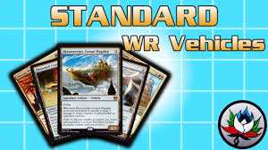 mtg deck standard mtg new w r vehicles standard deck tech for magic the gathering