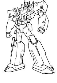 Coloriage Optimus Prime à Imprimer