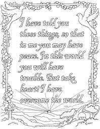 John Printable Coloring Page This Is Perfect For Children And Adults Too It A Favorite Verse Of Encourag