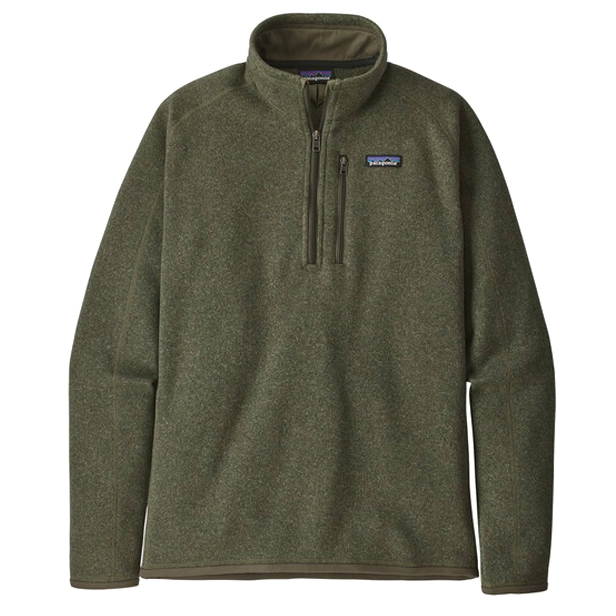 Patagonia Better Sweater 1/4 Zip Men's- Industrial Green