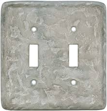 texture smokey taupe metal switch plates outlet covers