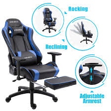 Dowinx Gaming Chair Ergonomic Racing Style Recliner With Massage Lumbar  Support, Office Armchair For Computer PU Leather E-Sports Gamer Chairs With  ... Ofm Essentials Collection Racing Style Bonded Leather Gaming Chair Nilkamal Chairs Price In Mumbai Riset Price Playseat Challenge Sitting Down Can Send You To An Early Grave Why Sofas And Your 12 Best 2018 Ohfd01n Formula Series Dxracer Forget Standing Desks Are You Ready Lie Down Work Wired Bion Geatric Office Video Executive Swivel Pu Seat Acer Predator Thronos The Ultimate Game Of Chair V Games Thread 440988043 Start The Game Always On Main Display Unity Forum