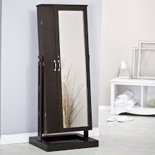 Furniture: Cozy Berber Carpet With Dark Full Length Mirror With ... Mini Jewelry Armoire Abolishrmcom Best Ideas Of Standing Full Length Mirror Jewelry Armoire Plans Photo Collection Diy Crowdbuild For Fniture Cheval Floor With Storage Minimalist Bedroom With For Decor Svozcom Over The Door Medicine Cabinet Outstanding View In Cheap Mirrored Home Designing Wall Mount Wooden