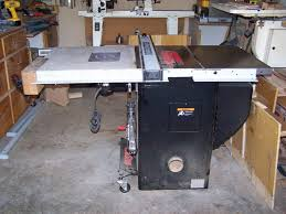 Sawstop Cabinet Saw Outfeed Table by Sawstop Setup