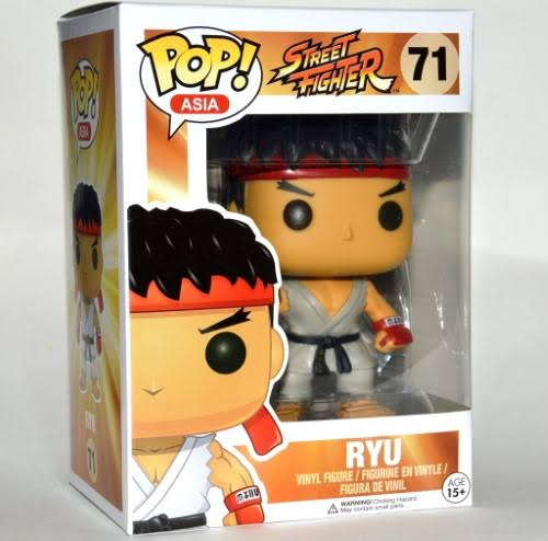 Funko Asia Pop! Vinyl Figure Ryu [Street Fighter]
