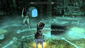 Velehk Sain Daedric Gauntlet Relic Midden Dark TES V Skyrim