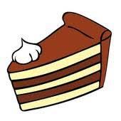 Cake Slice Chocolate Cake Slice