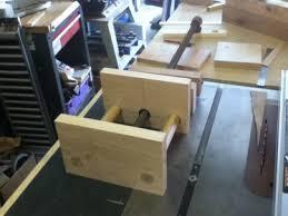 anyone make a shop made bench vice woodworking talk