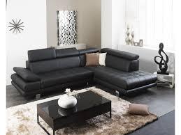canapé d angle personnalisable en cuir italien effleurement