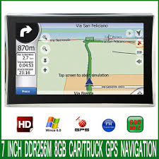 100 Truck Navigation 2019 7 Spain Car Vehicle GPS Navigator MTK CE 60
