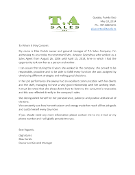 Sample Employee Reference Letters Employee Reference Letter Sample