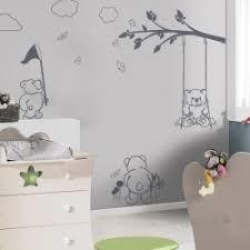 stickers ours chambre bébé stickers panda chambre bb arbre du bouleau ensemble avec