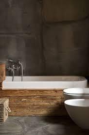 Interessane Gestaltung Eingelassene Badewanne Hölzerne Bretter Bathroom Wood Grey S H Badezimmer Badewannen Und