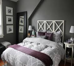 Bedroom Decorating Ideas Grey Modern Midtown Apartment Calm