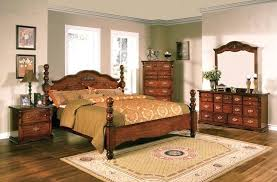 Solid Pine Bedroom Set Rustic Style Furniture Broyhill