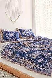 plum bow effie medallion comforter full at urban outfitters