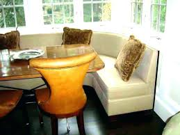 Corner Dining Booth Style Table Room