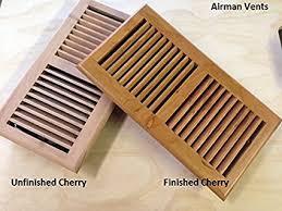 4x104x146x106x14 Brazilian Cherry Wood Floor Vent And Register Drop