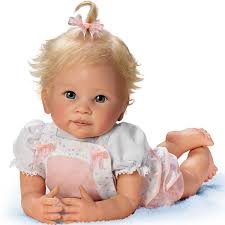 Amazoncom Baby Doll Addies Tummy Time Baby Doll 20