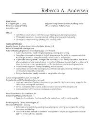 Zumba Instructor Resume Templates Group Fitness
