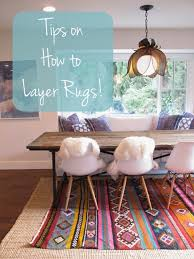 Twine How to Layer Rugs