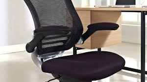 edge office chair fabric seat youtube