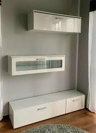 schrank board vitrine sideboard tv bank weiß hochglanz otto home