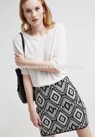 2016 short pencil skirt printed pattern fashion women tight skirt
