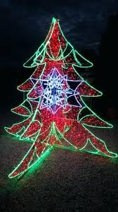 Rope Light Christmas Tree Tall Commercial Motif Decorations Uk