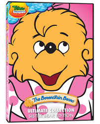 Berenstain Bears Christmas Tree Coloring Page by Ultimate Collection Sister Bear The Berenstain Bears