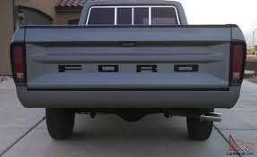 1977 Ford F150 Standard Cab Long Bed 2WD Custom 400M Auto F100 F250 ...