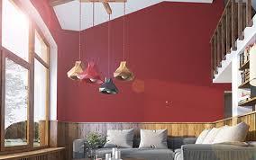 tolle wohnidee für rotes wohnzimmer
