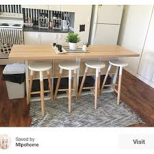 Ikea Kitchen Table And Chairs by Best 25 Kitchen Island Ikea Ideas On Pinterest Kitchen Island