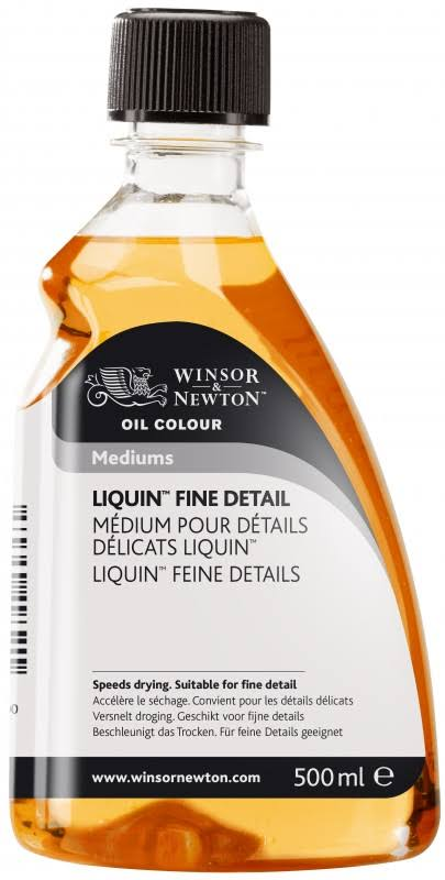 Winsor & Newton Liquin Fine Detail Medium 500ml