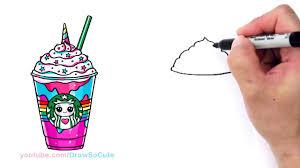 1280x720 How To Draw A Starbucks Unicorn Frappuccino