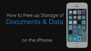 How to Free Up Space That Doc and Data Takes on iPhone